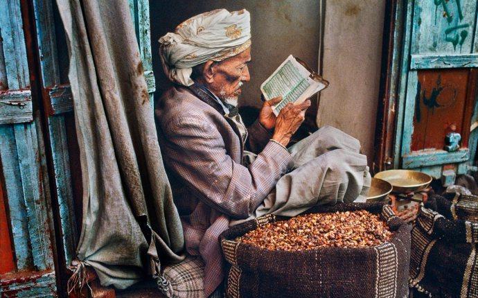 Retrato de un lector: SteveMcCurry